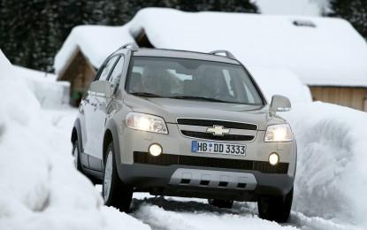 Chevrolet Captiva: Animo TRASGRESSIVO cerca cuore tempestoso