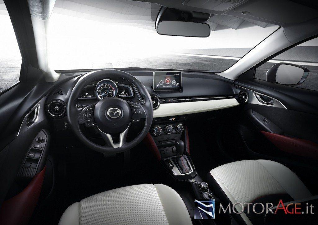 Mazda cx 3 effetto atletico per fare conquiste for Mazda cx 3 interieur