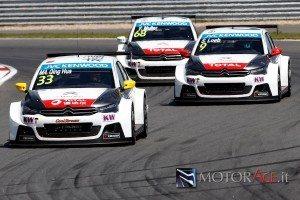 FIA WORLD TOURING CAR CHAMPIONSHIP 2015 - MOSCOW RACEWAY - RACE OF RUSSIA - WTCC-05/06/2015 A 07/06/2015 - PHOTO :  @World 33- Ma Qing Hua - Citroen Total WTCC