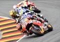 Gomme diverse per la coppia di testa del MotoGP Germania