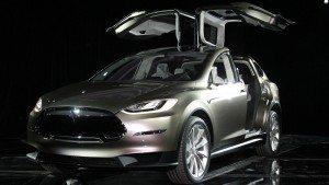 2014 Tesla Model X doors