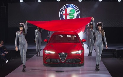 Alfa Romeo Giulia Quadrifoglio sbarca negli USA