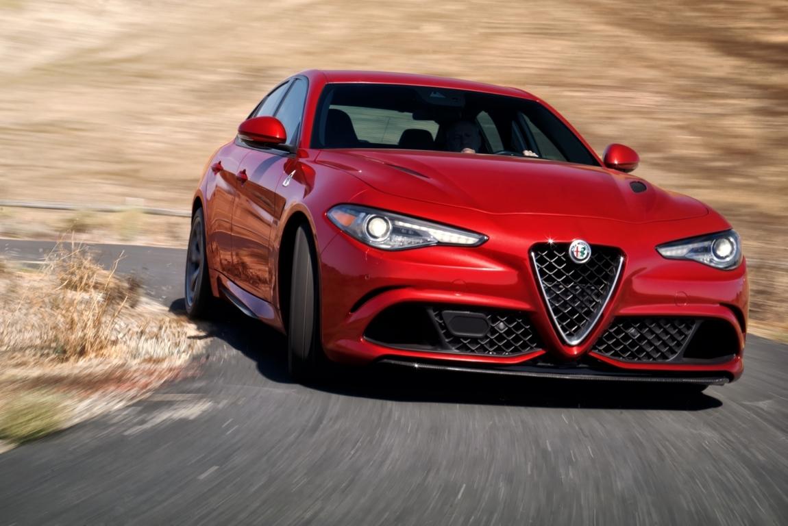 Alfa Romeo Giulia Quadrifoglio sbarca negli USA - MotorAge New