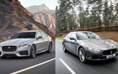 Jaguar XF 3.0 V6d vs Maserati Ghibli Diesel 275 CV – Faccia a faccia