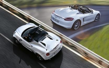 Confronto Alfa Romeo 4C Spider – Porsche Boxster Spyder