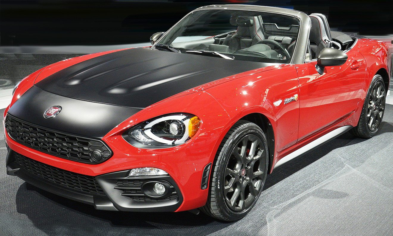 fiat 124 spider elaborazione abarth la scoperta per l america. Black Bedroom Furniture Sets. Home Design Ideas