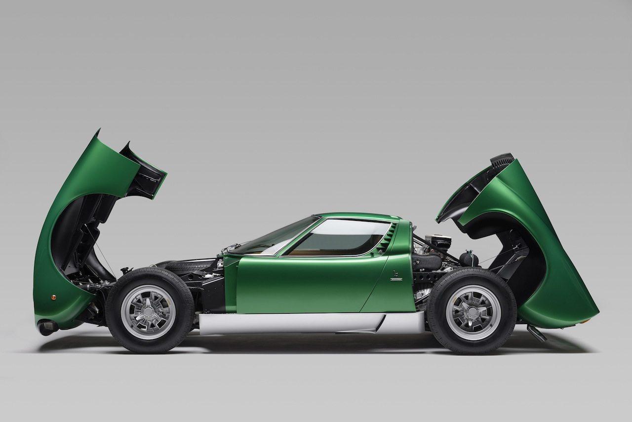 Lamborghini Miura Sv Tributo Prototipo Ad Amelia Island Motorage New Generation