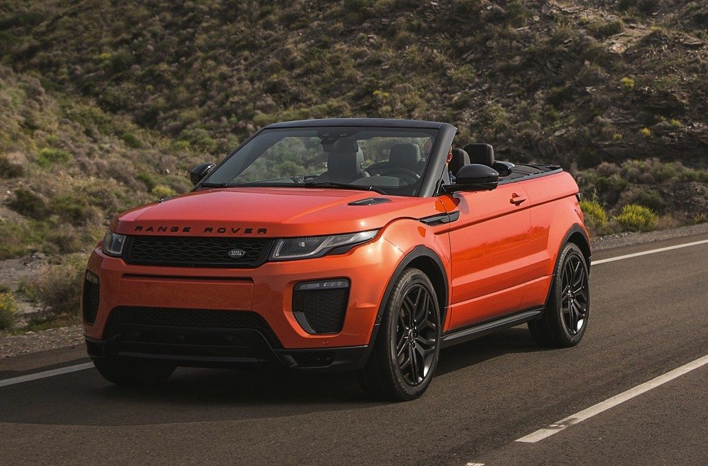 range rover evoque convertible club four. Black Bedroom Furniture Sets. Home Design Ideas