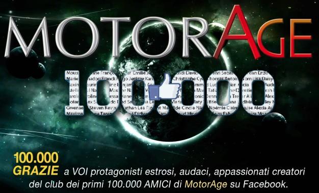 MotorAge e 100.000 meravigliosi Amici su Facebook : la festa di tutti