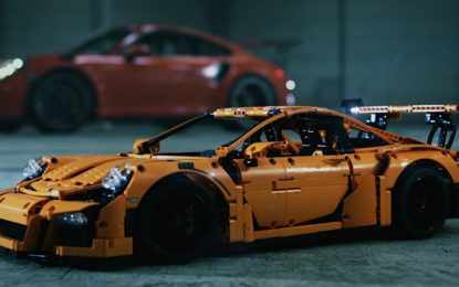 Lego 911 GT3 RS : il maxi modellino della Porsche