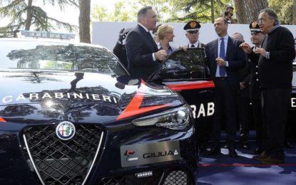 La Giulia ai Carabinieri con il Quadrifoglio