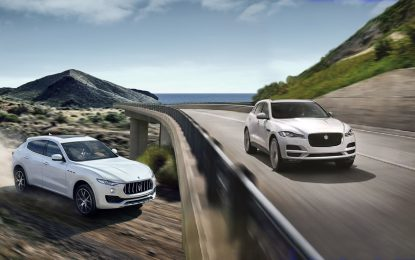 Jaguar F-Pace 3.0 V6 D – Maserati Levante 3.0 V6 D a confronto
