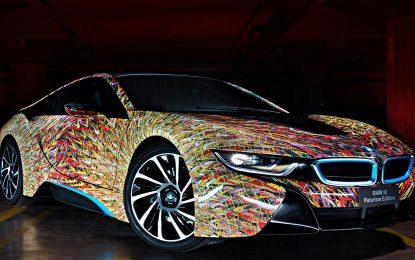 BMW i8 Futurism Edition – Arte contemporanea in movimento