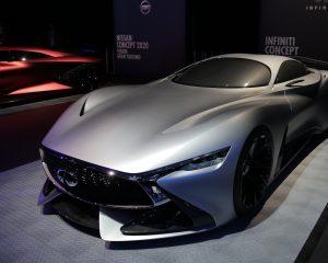 Infiniti Concept Vision al lancio di Gran Turismo GT Sport