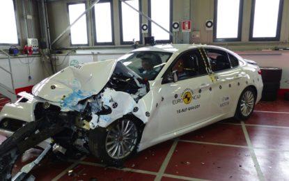 Crash test 2016: tocca anche a Giulia