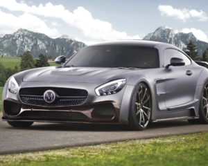 Mercedes AMG GT S by Mansory : una super potenza one-off