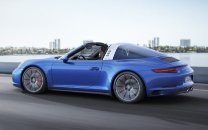 Porsche 911 Targa 4S – Due turbo d'autore