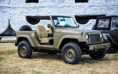 Jeep Wrangler 75th Salute : happy birthday!
