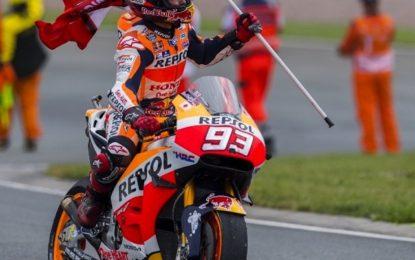 Capolavoro Marquez in Germania. Vale: addio titolo MotoGP?