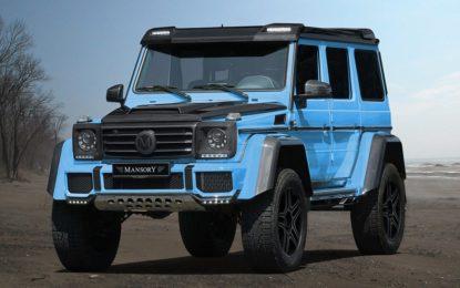 Mercedes-Benz G500 4×4 by Mansory : sintesi degli opposti