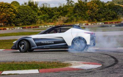 Piccola elettrica futurista: Nissan BladeGlider