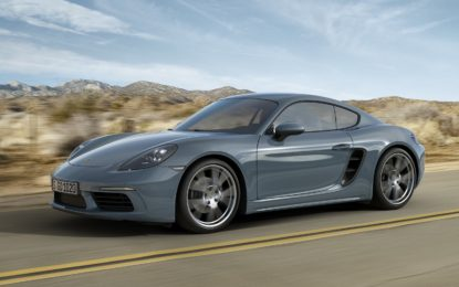 "Porsche 718 Cayman : ""Give me four"""
