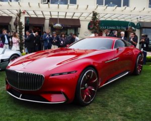 Mercedes-Maybach 6: quattro cuori e una coupé