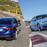 Confronto Alfa Romeo Giulia Quadrifoglio-BMW M3: Duello appassionante