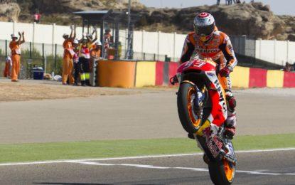 Sentenza Marquez ad Aragon: vittoria e mani sul Mondiale MotoGP