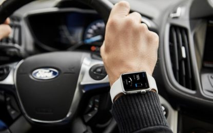 Ford elettriche controllate dallo smartwatch