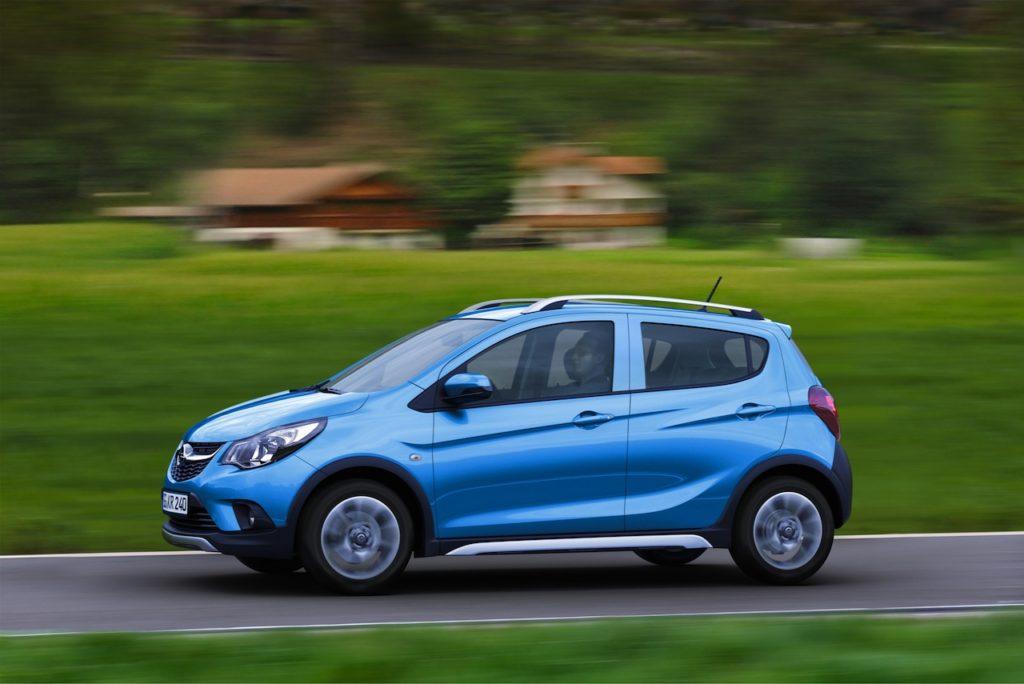 Opel Karl Rocks Travestimento Da Cross Motorage New