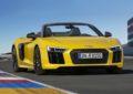 Audi R8 Spyder V10: Concerto all'aperto