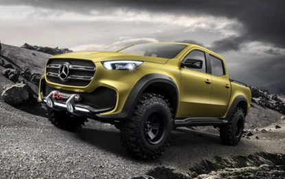 X-Class: Il primo pick-up Mercedes