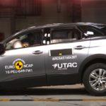 Crash Test Euro NCAP: per 3008 e Classe E le stelle sono di serie