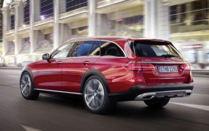 Mercedes Classe E All-Terrain: La wagon all'altezza della situazione