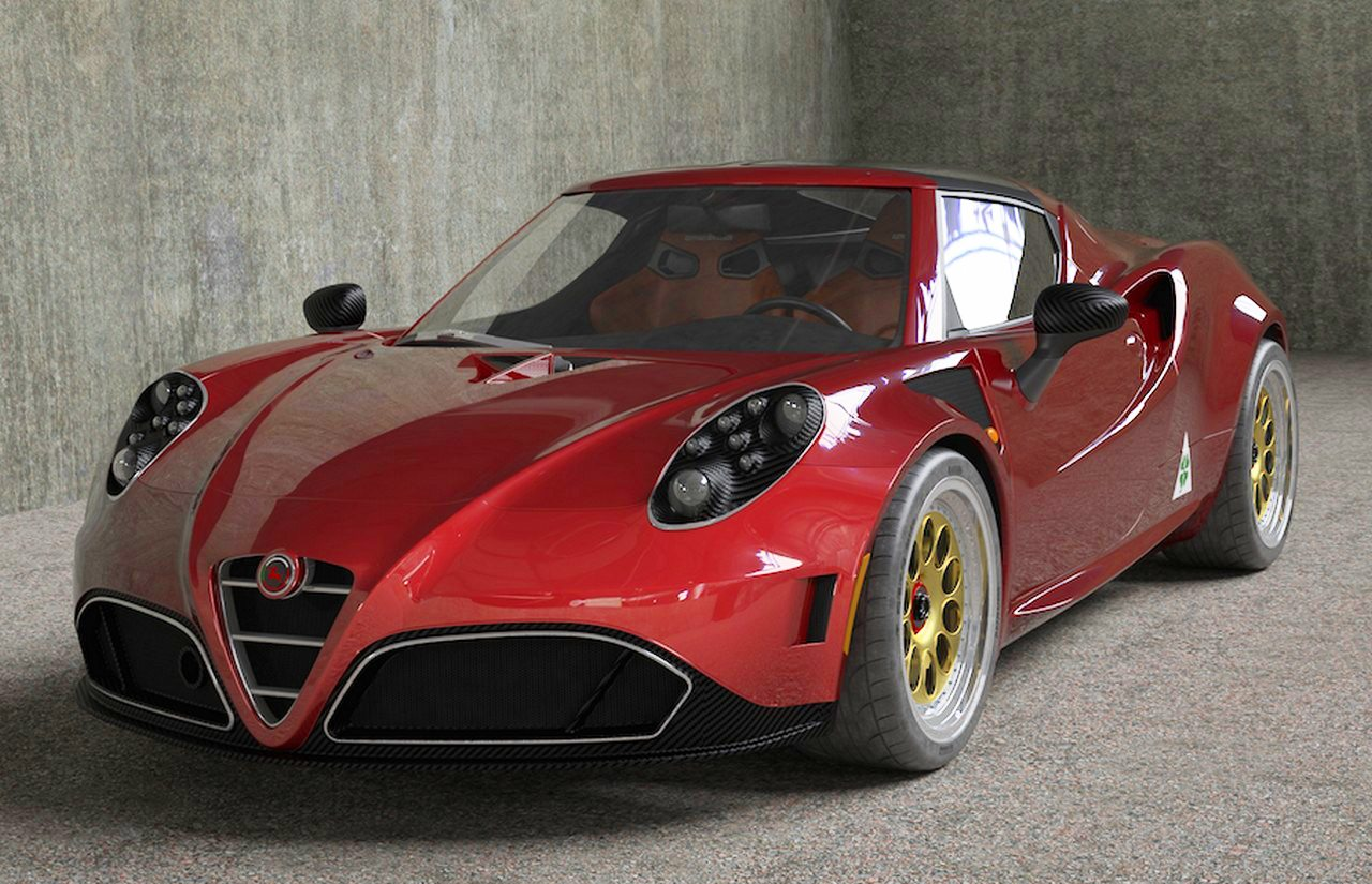 alfa romeo 4c elaborata dalla romeo ferraris. Black Bedroom Furniture Sets. Home Design Ideas