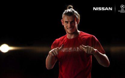 Bale e Aguero: ambasciatori del calcio si raccontano a Nissan