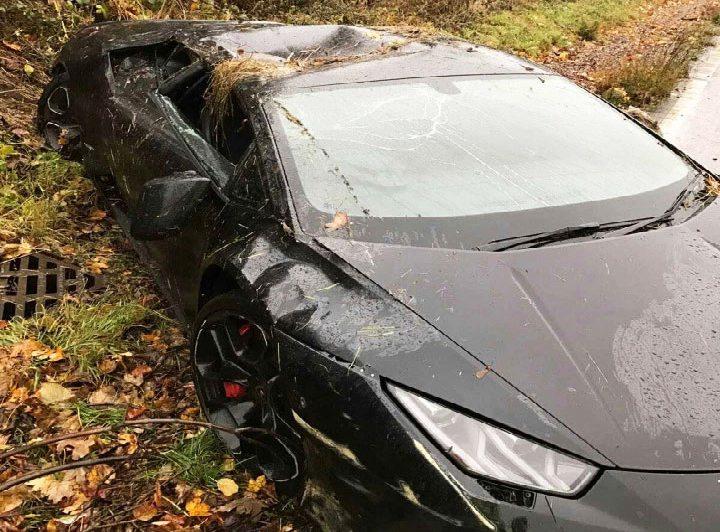 Lamborghini Huracan distrutta da Schlupp [Foto]