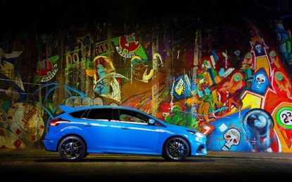 Ford Focus RS: adrenalina aumentata. 375 CV !