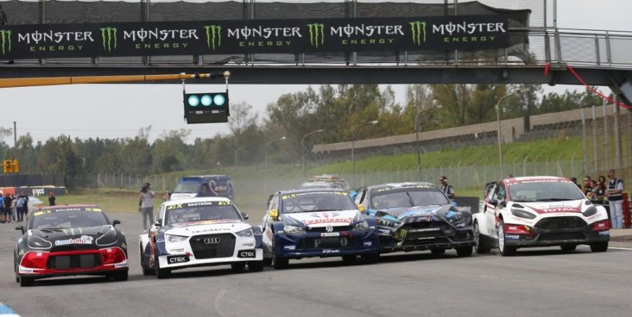 RX Rallycross: i migliori del Mondiale. Loeb 5°, Block disperso