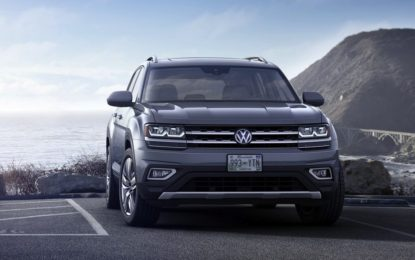 Volkswagen Atlas: Mega Suv a 7 posti