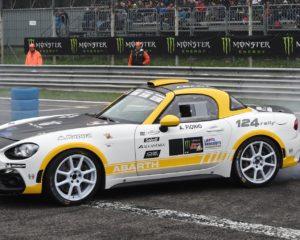 Abarth 124 rally: Exibition al Monza Rally Show