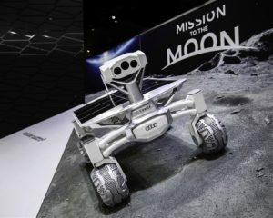 Audi pronta per la Luna. Atterraggio a fine 2017