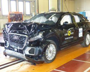 Ultimi crash test sicurezza 2016. Svetta Audi Q2 e qualcuno si salva in corner