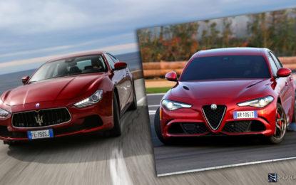 Giulia Quadrifoglio vs Maserati Ghibli S Q4: Così simili, così diverse