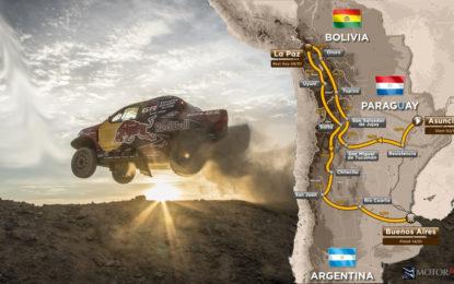 Dakar 2017: in partenza dal Paraguay