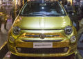 Fiat 500 by PacoRabanne: one-off tutta d'oro il palio
