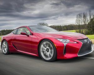 Lexus LC 500 Hybrid: coupé hi-tech ad alte sensazioni