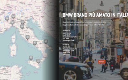 Mercato Auto Online: mappa interattiva sulle tendenze 2016