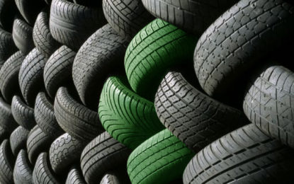 """Dai pneumatici a""""fine vita""""  il futuro di quelli green"""